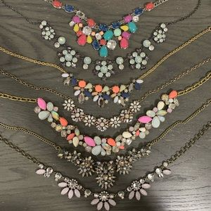 Set of 7 Statement Necklaces